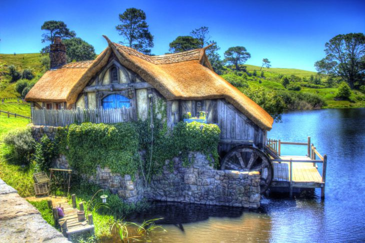 Hobbitton Hobbiville Millhouse
